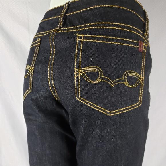 "Buffalo David Bitton Denim - Buffalo Jeans ""Jolie"" Dark Lightweight Denim, 29"